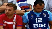 Bošnjak i Srbin zajedno bodrili svoje ekipe