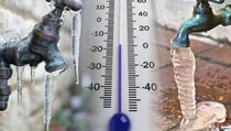 Kako da spriječite pucanje cijevi zbog niskih temperatura