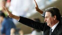 Brazilski predsjednik kažnjen zbog nenošenja maske