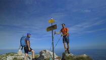 Hajla - S vršnog grebena pogled na čak šest država