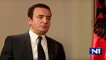 Kurti: U vladi i ministar s podrškom Srpske liste, ali ne kao dio koalicije