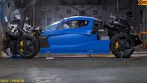 Uništavanje prototipa od milijun eura: Ovako izgleda crash test Rimčeve jurilice