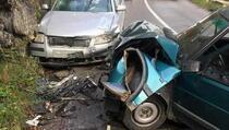 Prizren-Rečane: U saobraćajnoj nesreći povrijeđene dvije osobe