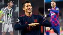 Lewandowski: S Messijem i Ronaldom ne mogu sjediti za istim stolom
