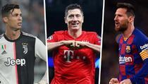 Lewandowski, Messi i Ronaldo u borbi za najboljeg igrača