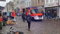 Strava u Njemačkoj: Autom uletio u pješačku zonu, dvoje mrtvih, najmanje 10 povrijeđenih