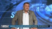 Berisha: Ulazak PDK u vladu ne dolazi u obzir