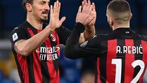 Zašto su Ibrahimović i Rebić igrali s crvenom mrljom na licu protiv Napolija?
