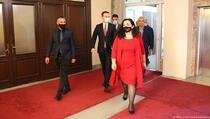 Osmani: Nije vrijeme za nastavak dijaloga sa Srbijom