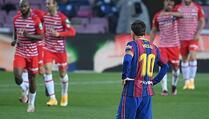 Barcelona imala prvo mjesto pa izgubila od Granade na Camp Nou
