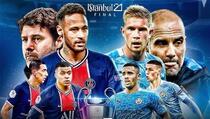 PSG dočekuje City u prvom meču polufinala