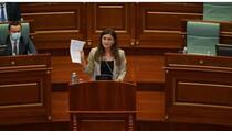 Poslanica PDK tvrdi da joj je pretio suprug predsjednice Vjose Osmani