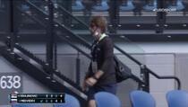 Nesvakidašnja scena: Teniser otjerao trenera usred meča pa proigrao