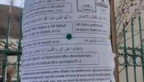 Reporteri: Plakati na arapskom jeziku sa pozivom da se glasa za VV
