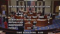 Zastupnički dom Kongresa izglasao opoziv Donalda Trumpa