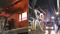 Prizren: Osoba sa posebnim potrebama izazvala požar u svojoj kući
