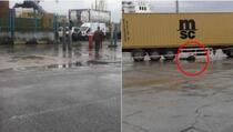 Uhapšen vozač kamiona sa Kosova koji je pregazio službenicu luke u Dursu