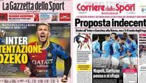 Džeko na naslovnicama italijanskih medija: Šta ga dijeli od dolaska u Inter?