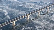 Južna Koreja: Temperatura od -16 zamrznula veliku rijeku