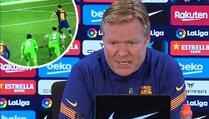 Koeman frustriran zbog promašenih penala, igrači Barcelone ih vježbali na treningu