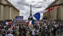Francuska: Hiljade ljudi protestuje zbog obavezne vakcinacije protiv COVID-19