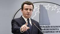 Kurti: Vučić i dalje razmišlja o tome kako da Srbija vrati Kosovo