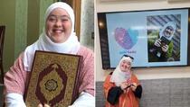 Prva djevojka s Down sindromom koja je naučila Kur'an napamet
