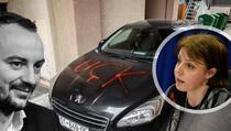 Aktivisti PSD ispisali UÇK na automobilu Donike Gërvalle-Schwarz