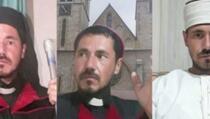 Glumio popa, hodžu i nadbiskupa te obavljao vjerske obrede u sve tri religije u BiH