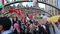 SAD, Kanada, Katar: Deseci hiljada ljudi na protestima protiv izraelskih napada na Palestince