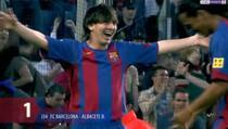 Lionel Messi je prije 16 godina postigao prvi pogodak za Barcelonu