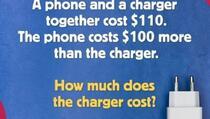 Matematički zadatak koji je izvazvao veliku raspravu: Koliko košta punjač?