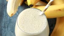 Omiljeni napitak sportista: Šta je mlijeko od banane i je li zdravo?