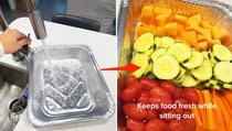 Jednostavan trik: Na ovaj način namirnice će duže ostati svježe kada ih narežete