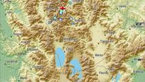 Tri zemljotresa u Sjevernoj Makedoniji: Epicentar na potezu Tetovo - Gostivar