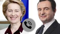 Kurti: Von der Leyen je potvrdila posvećenost EU u pružanju vakcina Kosovu
