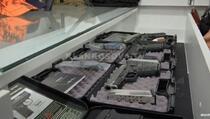 Oružje i municija ukradeni iz radnje u Vitini