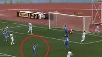 Ukrajinski nogometaš slavio kad je njegova ekipa primila gol, pa ponudio opravdanje