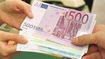 Finansijski priliv iz dijaspore za osam mjeseci 749 miliona eura