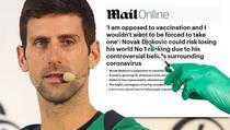 Australci savjetuju Đokovića da se vakciniše protiv koronavirusa