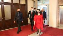 Osmani otputovala u zvaničnu posjetu Njemačkoj