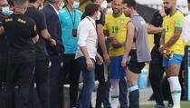 Argentinci napustili Brazil nakon haosa na utakmici