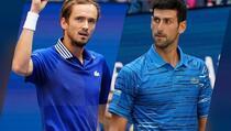 Đoković večeras protiv Medvedeva igra finale US Opena za historiju i ispunjenje sna