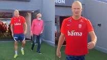 Haaland imitirao Ibrahimovića na treningu nakon izjave selektora Norveške