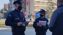 Policija izrekla 393 kazne zbog nepoštovanja antikovid mjera