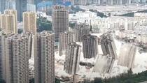 U istom trenutku srušili 15 nebodera, koristili 4,5 tona eksploziva