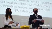 CIK: Obavljeno žrijebanje za rangiranje političkih subjekata