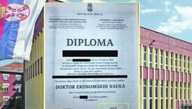 15 Kosovara doktoriralo na Univerzitetu u Kragujevcu na temama o nezavisnom Kosovu