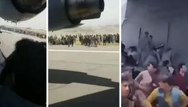 Zastrašujući snimak iz Afganistana: Pronašli ljudske ostatke na točku aviona