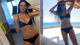 """Demi Moore na pragu 60. osvanula u bikiniju kojeg je nosila u """"Čarlijevim anđelima"""""""